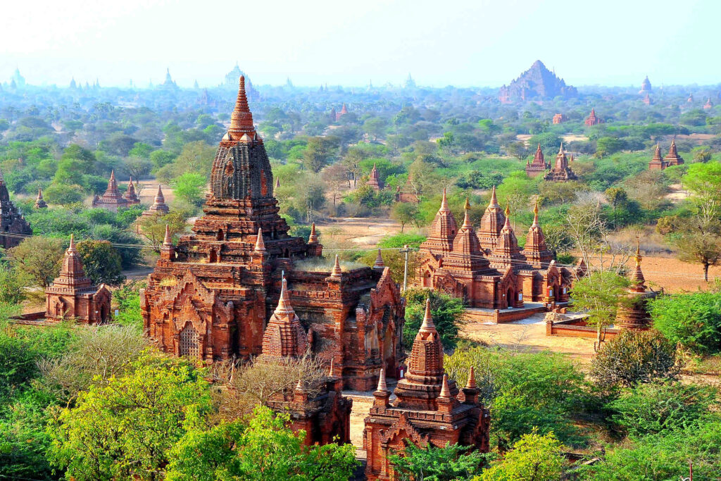 Bagan half-day private tour and optional Bagan zone pass
