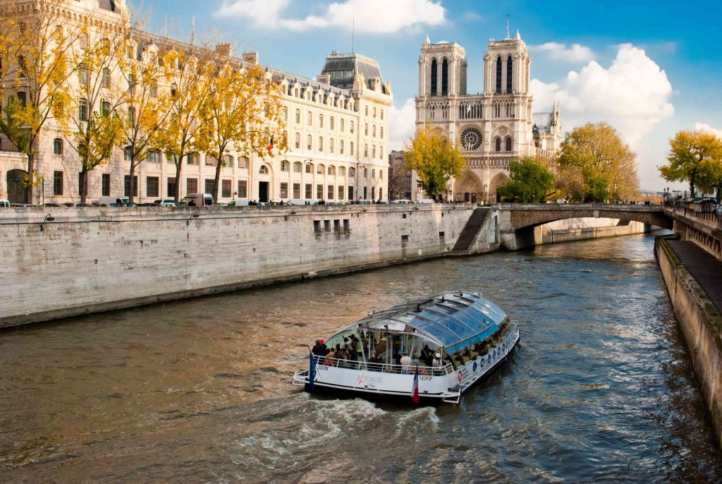 Sightseeing Cruise on the Seine